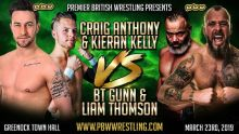 TAG TEAM MATCH SET FOR GREENOCK thumbnail
